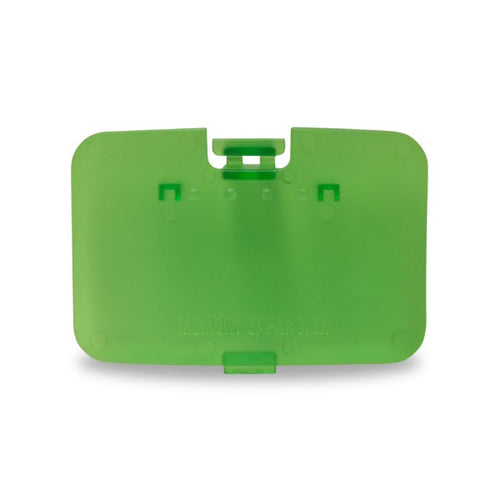 Nintendo N64 Expansion Slot Door Cover (Jungle Green) - Repair Box - CastleMania Games