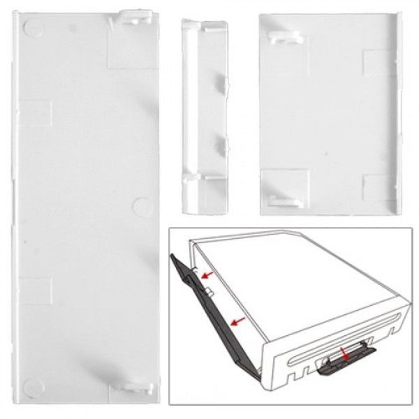 Nintendo Wii Replacement Doors (White) DWR-A01 - CastleMania Games