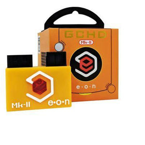 EON GCHD Gamecube MK-II HDMI Component / SCART Adapter Limited Ed. Spice Orange - CastleMania Games