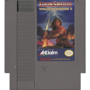 Iron Sword Wizards and Warriors II (NES) - CastleMania Games