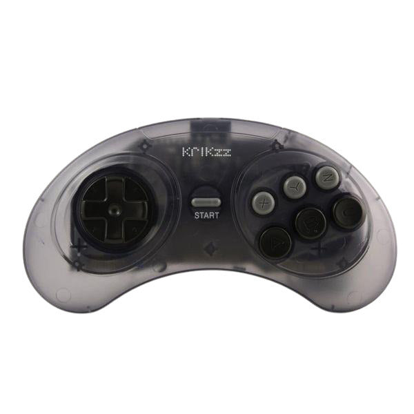 Sega Genesis JOYzz Wireless Controller - Transparent Gray - CastleMania Games