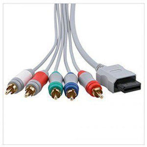 Nintendo Wii U/ Wii HD Component Cable YPbPr RCA video A/V hook up upgrade - CastleMania Games