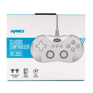 NES SNES Classic Edition Wii / Wii U Classic Wired Pro Controller - White - CastleMania Games