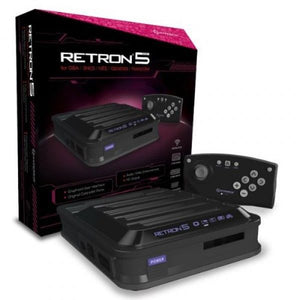 Hyperkin RetroN 5 Retro Video Gaming System Console - Black - Newest Edition! - CastleMania Games