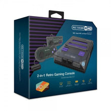 Load image into Gallery viewer, RetroN 2 HD Gaming Console for NES - SNES (Space Black) - Hyperkin - CastleMania Games