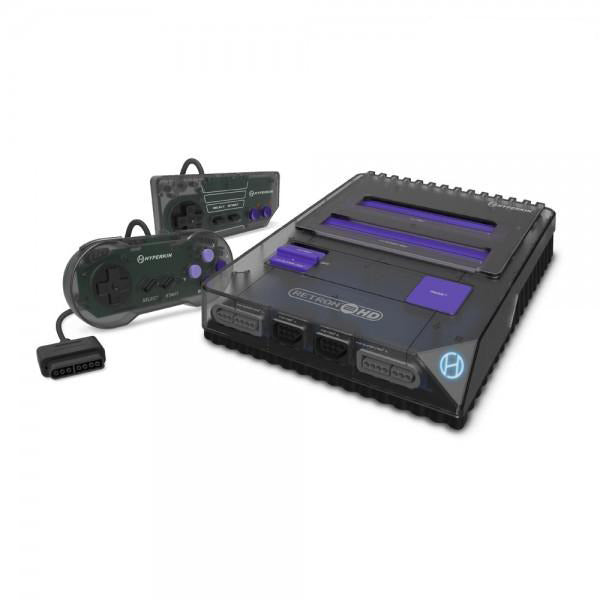 RetroN 2 HD Gaming Console for NES - SNES (Space Black) - Hyperkin - CastleMania Games