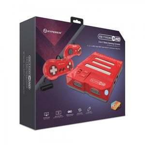 RetroN 3 HD Console for NES®, Super NES®  and Genesis® (Jasper Red) - Hyperkin - CastleMania Games