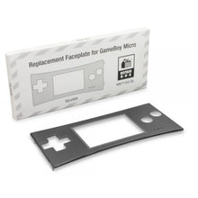 Load image into Gallery viewer, Replacement Faceplate for Original Nintendo Game Boy Micro Silver - CastleMania Games