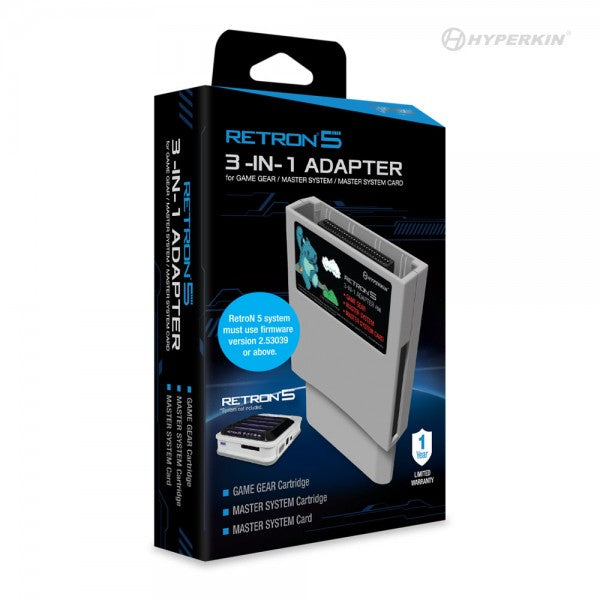 RetroN 5 3-in-1 Adapter for Game Gear/ Master System/ Master System Card - Hyperkin - CastleMania Games
