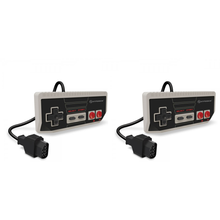 Load image into Gallery viewer, NES Cadet Premium Controller - Set of 2 - Nintendo / clone consoles - CastleMania Games