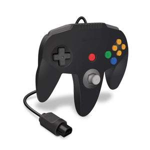 """Captain"" Premium Controller for N64® (Black) - Hyperkin - CastleMania Games"