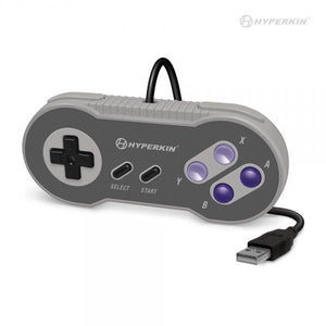 "Hyperkin ""Scout"" Premium SNES-Style USB Controller for PC/ Mac & Super Retrocade - CastleMania Games"