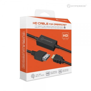 Hyperkin HDMI for the SEGA Dreamcast - High Definition - New HD AV Cable - CastleMania Games