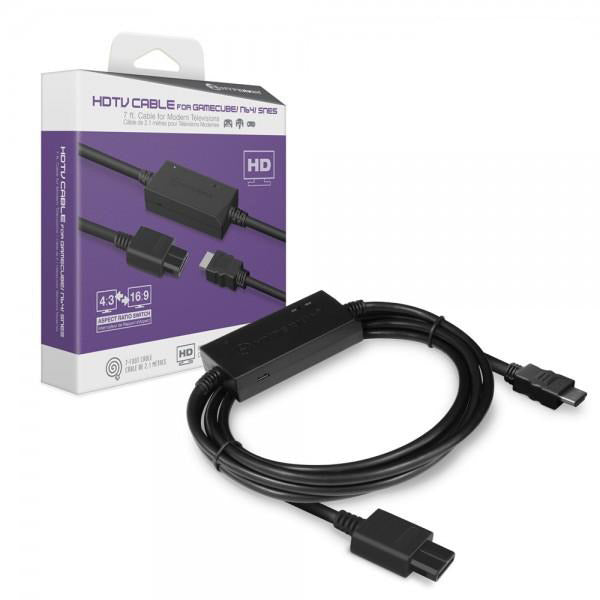 Nintendo 3-in-1 HDTV Cable for SNES, N64 and GameCube by Hyperkin - CastleMania Games