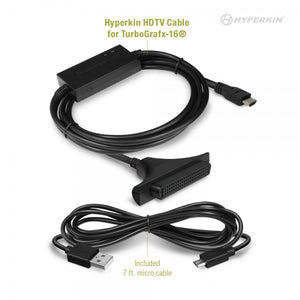 TurboGrafx16® HDMI Cable by Hyperkin - CastleMania Games
