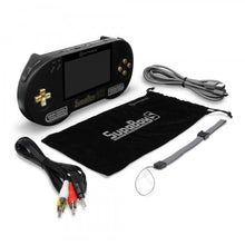Load image into Gallery viewer, SupaBoy BlackGold Portable Pocket Console for SNES / Super Famicom - Hyperkin - CastleMania Games