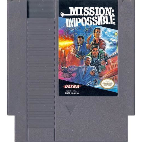 Mission Impossible (NES) - CastleMania Games