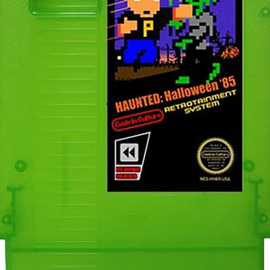 Haunted Halloween 85 - NES Cartridge Game - CastleMania Games