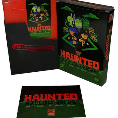 Haunted Halloween 86 - NES Cartridge Game - CastleMania Games