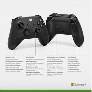 Xbox Series X Wireless Controller - Carbon Black - CastleMania Games