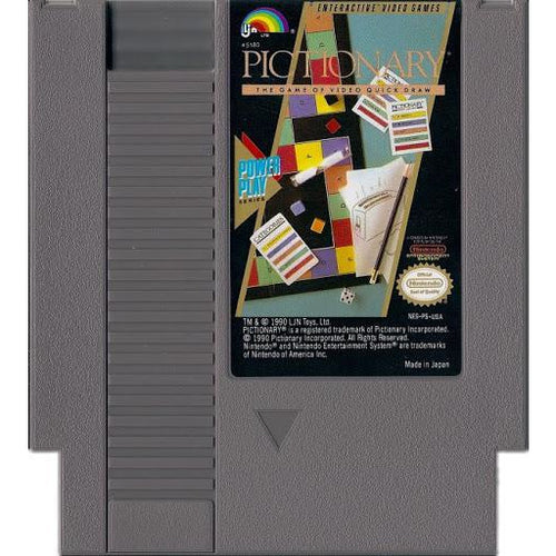 Pictionary (NES) - CastleMania Games