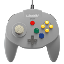 Load image into Gallery viewer, Retro-Bit Tribute64 Controller for the N64 - Grey - CastleMania Games