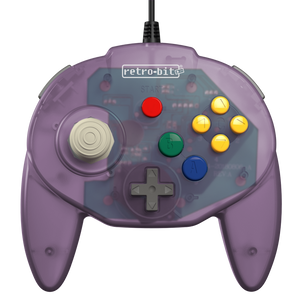 Retro-Bit Tribute64 Controller for the N64 - Atomic Purple - CastleMania Games