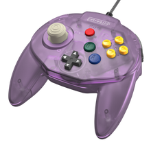 Load image into Gallery viewer, Retro-Bit Tribute64 Controller for the N64 - Atomic Purple - CastleMania Games
