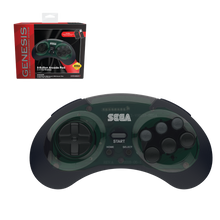 Load image into Gallery viewer, SEGA Genesis 8-Button Arcade Pad - 2.4 GHz Wireless - Shadow - CastleMania Games