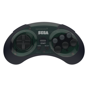 SEGA Genesis 8-Button Arcade Pad - 2.4 GHz Wireless - Shadow - CastleMania Games