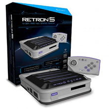 Load image into Gallery viewer, Hyperkin RetroN 5 Retro Video Gaming System Console - Gray- Newest Edition! - CastleMania Games