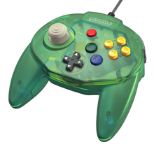 Load image into Gallery viewer, Retro-Bit Tribute64 USB Controller for the Nintendo Switch, Steam - Forest Green - CastleMania Games