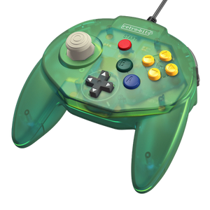 Retro-Bit Tribute64 USB Controller for the Nintendo Switch, Steam - Forest Green - CastleMania Games