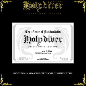 Holy Diver Collectors Set - Black Cartridge - CastleMania Games