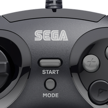 Load image into Gallery viewer, Retro-Bit Official SEGA Genesis USB 8-button Arcade Pad - Black - CastleMania Games