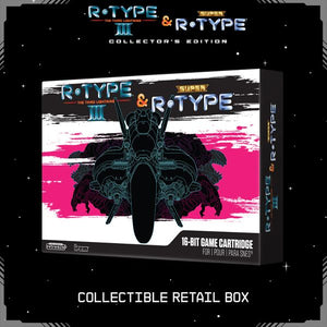 R-Type III & Super R-Type Collector's Edition - Black - CastleMania Games
