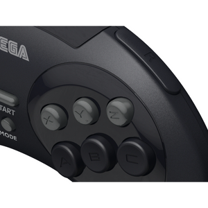 Retro-Bit Official SEGA Genesis USB 8-button Arcade Pad - Black - CastleMania Games
