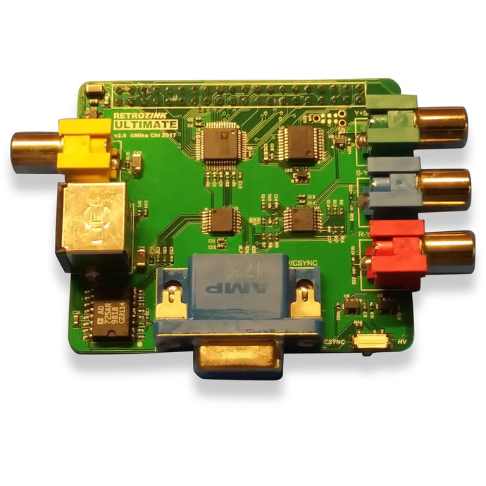 RetroTINK Ultimate Digital to Analog Converter for the Raspberry Pi - CastleMania Games