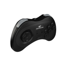 Load image into Gallery viewer, SEGA Saturn® 8-Button Arcade Pad - 2.4 GHz Wireless - Black - CastleMania Games
