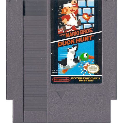 Super Mario Bros and Duck Hunt (NES) - CastleMania Games