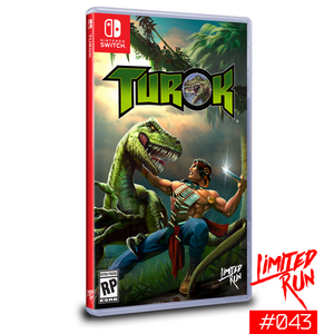Limited Run #43: Turok (Switch) - CastleMania Games