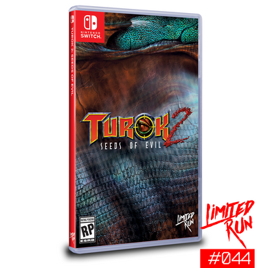 Limited Run #44: Turok 2: Seeds of Evil (Switch) - CastleMania Games