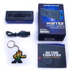 Retro Fighters Warrior Wireless Adapter for Switch & PC - Wave Bird Compatible - CastleMania Games