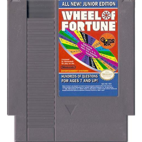 Wheel of Fortune Junior Edition (NES) - CastleMania Games
