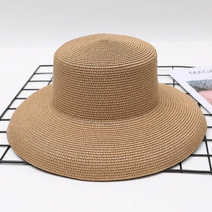 RECHERCHé - Vintage Intricate Weaved Straw Bucket Hat (5 Colors)