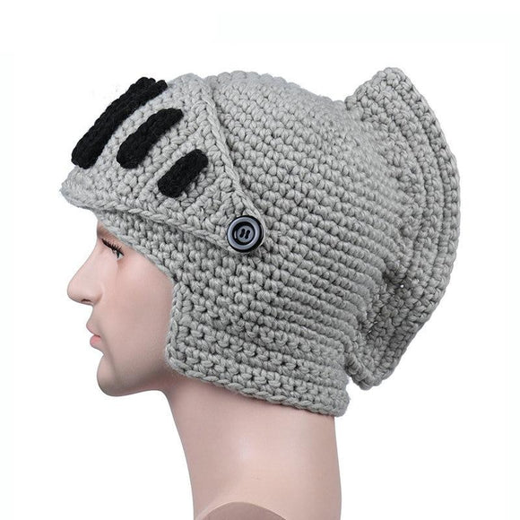 Knitted Roman Beanie Hat (4 Colors)