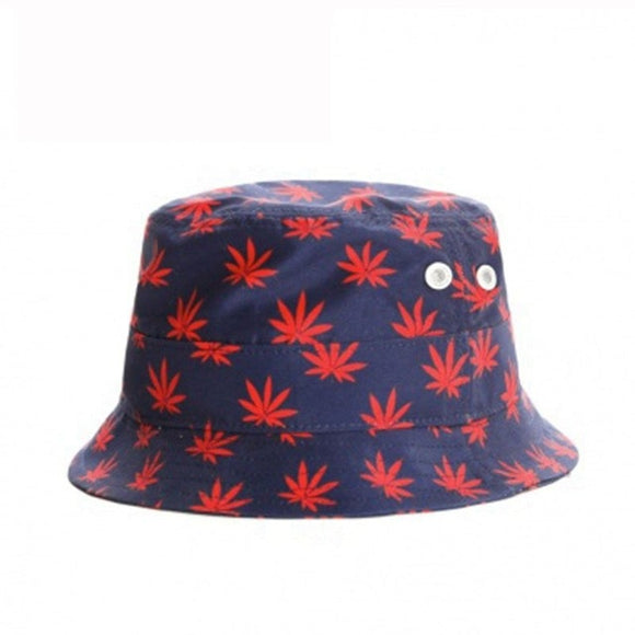 Red Bud Leaf Bucket Hat