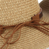 BENITO - Classical Western Straw Cowboy Cowgirl Hat