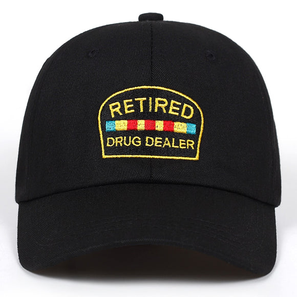 Retired Drug Dealer Curved Brim Hat Cap