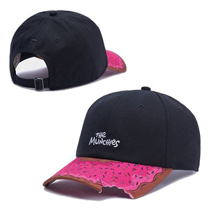 MUNCHIES Curved Brim Hat Cap